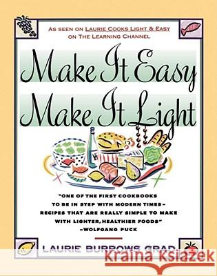 Make it Easy, Make it Light Laurie Burrows Grad Isadore Rosenfeld 9780671733087