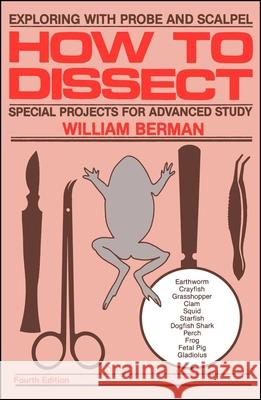How to Dissect William Berman 9780671763428