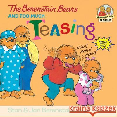 Berenstain Bears & Too Much Stan Berenstain Jan Berenstain 9780679877066