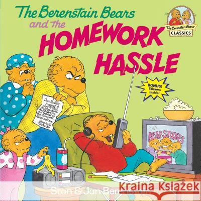 The Berenstain Bears and the Homework Hassle Stan Berenstain Jan Berenstain 9780679887447
