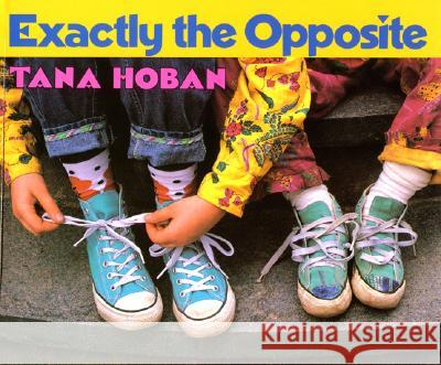 Exactly the Opposite Tana Hoban Tana Hoban 9780688088613