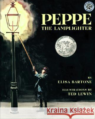 Peppe the Lamplighter Elisa Bartone Ted Lewin 9780688154691