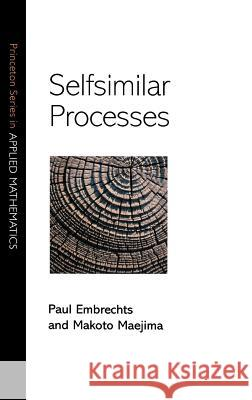 Selfsimilar Processes Paul Embrechts 9780691096278