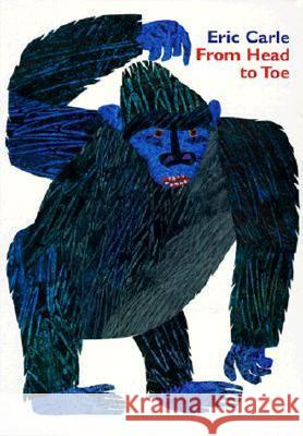 From Head to Toe Board Book Eric Carle Eric Carle 9780694013012