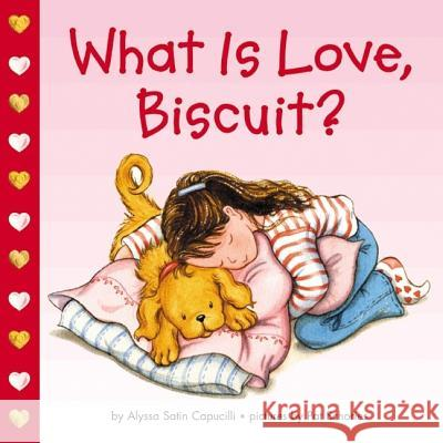 What Is Love, Biscuit? Alyssa Satin Capucilli Pat Schories 9780694015177