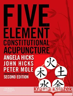 Five Element Constitutional Acupuncture Hicks, Angela, Hicks, John, Mole, Peter 9780702031755