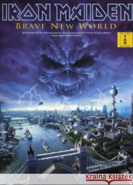 Iron Maiden : Brave New World Guitar Tab Edition   9780711984820