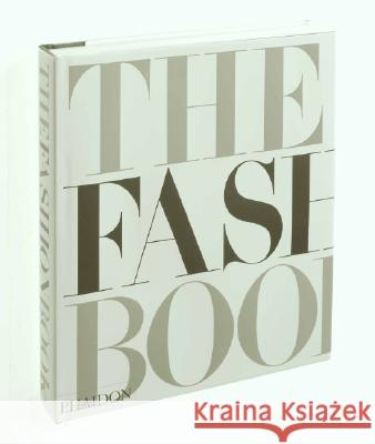 The Fashion Book Phaidon Press 9780714838083