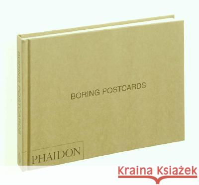Boring Postcards USA Martin Parr 9780714843919 Phaidon Press