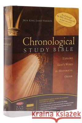 Chronological Study Bible-NKJV Thomas Nelson Publishers 9780718020682