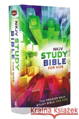 NKJV, Study Bible for Kids, Hardcover, Multicolor : The Premier NKJV Study Bible for Kids Thomas Nelson Publishers 9780718032456