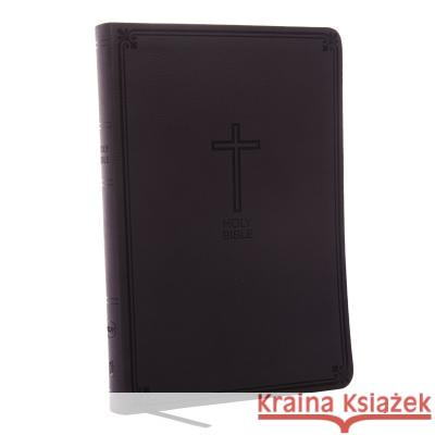 NKJV, Value Thinline Bible, Large Print, Imitation Leather, Black, Red Letter Edition Thomas Nelson 9780718075583