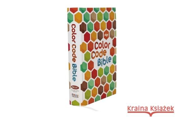 Color Code Bible-NKJV Thomas Nelson 9780718087524