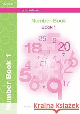 Number Book 1 Andrew Parker 9780721707884