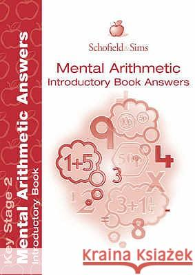Mental Arithmetic Introductory Answer Book   9780721708539