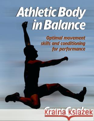 Athletic Body in Balance Gray Cook 9780736042284