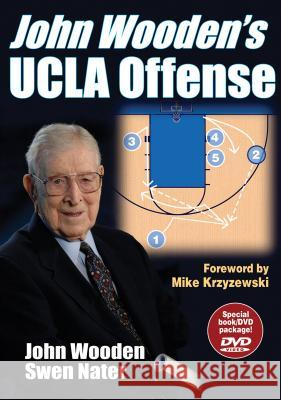 John Wooden's UCLA Offense [With DVD] John Wooden Swen Nater 9780736061803