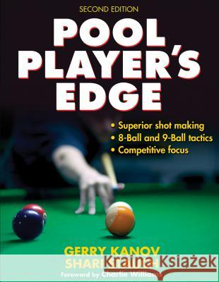 Pool Player's Edge Gerry Kanov Shari Stauch 9780736087254