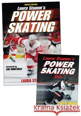 Laura Stamm's Power Skating [With DVD] Human Kinetics 9780736093279