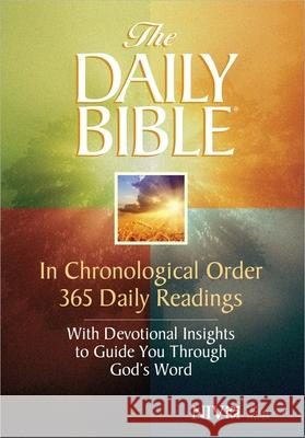 Daily Bible-NIV: In Chronological Order 365 Daily Readings with Devotional Insights to Guide You Through God's Word F. LaGard Smith 9780736944311