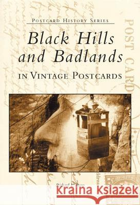 Black Hills and Badlands in Vintage Postcards Richard L. Popp 9780738519647