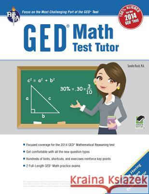 GED(R) Math Test Tutor, for the 2014 GED(R) Test Laurie Callihan 9780738611365