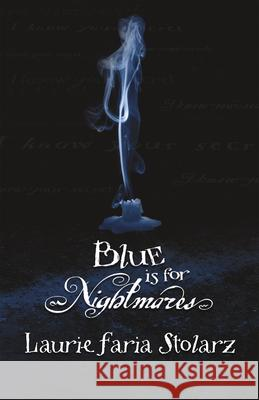 Blue Is for Nightmares Laurie Faria Stolarz Willis 9780738703916