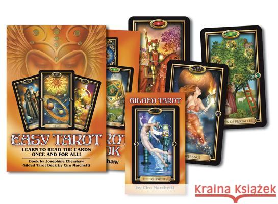Easy Tarot: Learn to Read the Cards Once and for All! Josephine Ellershaw 9780738711508