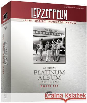 Led Zeppelin Authentic Guitar Tab Edition Boxed Set: Alfred's Platinum Album Editions Led Zeppelin 9780739075555