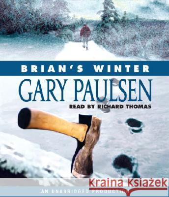 Brian's Winter - audiobook Gary Paulsen Richard Thomas 9780739362754