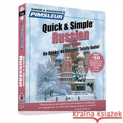 Pimsleur Russian Quick & Simple Course - Level 1 Lessons 1-8 CD: Learn to Speak and Understand Russian with Pimsleur Language Programs - audiobook Pimsleur                                 Pimsleur Language Programs 9780743506182