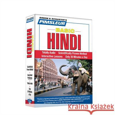 Pimsleur Hindi Basic Course - Level 1 Lessons 1-10 CD: Learn to Speak and Understand Hindi with Pimsleur Language Programs - audiobook Pimsleur 9780743552561