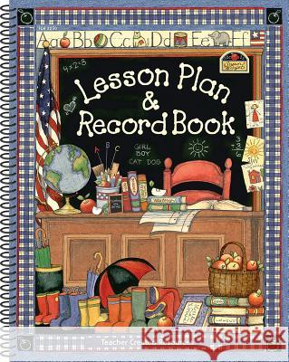 Lesson Plan & Record Book from Susan Winget Teacher Created Resources 9780743932509 Teacher Created Resources