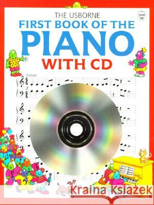 First Book Of The Piano Book And Cd   9780746037133