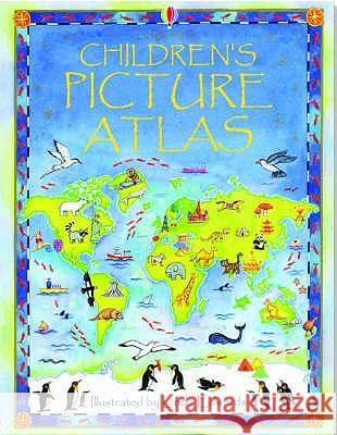 Usborne Children's Picture Atlas Ruth Brocklehurst 9780746047132