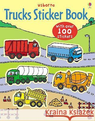 Trucks Sticker Book Sam Taplin 9780746089415