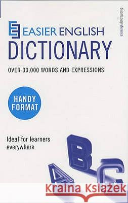 EASIER ENGLISH DICTIONARY: P. H. Collin 9780747566250 A & C BLACK PUBLISHERS LTD