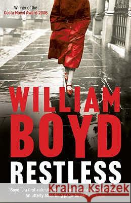 Restless William Boyd 9780747586203