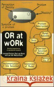 OR At Work : Case Studies On The Application Of OR In Industry, Service, Agriculture And health care Fortuin Fortuin Leonard Fortuin Leonard Fortuin 9780748404568