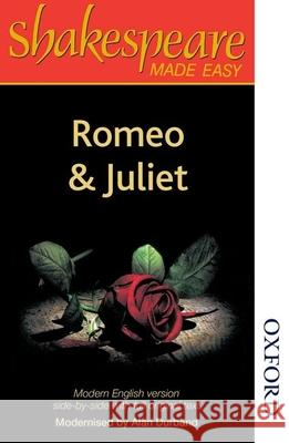 Shakespeare Made Easy - Romeo and Juliet A Durband 9780748702558 0