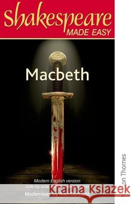 Shakespeare Made Easy - Macbeth A Durband 9780748702565 0