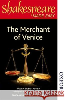 Shakespeare Made Easy - The Merchant of Venice A Durband 9780748703630 0