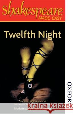 Shakespeare Made Easy - Twelfth Night A Durband 9780748737765 0