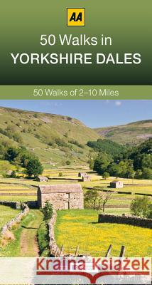 50 Walks in Yorkshire Dales  AA Publishing 9780749575755