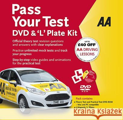 Pass Your Test & 'L' Plate Kit  AA Publishing 9780749578404