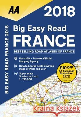 Big Easy Read France 2018 Sp AA Publishing 9780749578664