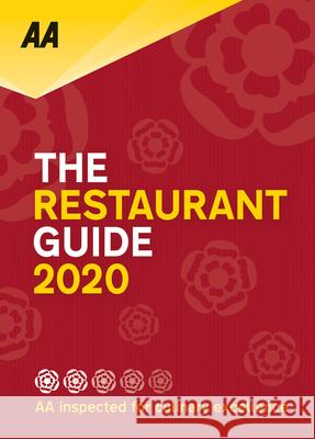Restaurant Guide 2020 Aa Publishing 9780749581930