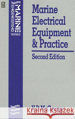 Marine Electrical Equipment and Practice H. D. McGeorge 9780750616478