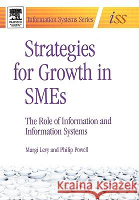 Strategies for Growth in Smes: The Role of Information and Information Sytems Margi Levy Philip Powell 9780750663519