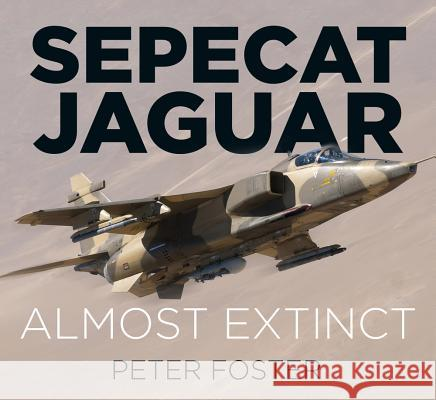 Sepecat Jaguar: Almost Extinct Foster, Peter 9780750970211